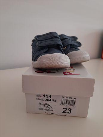 Sapatilhas Azuis Pisamonas tamanho 23