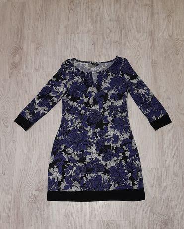 Стильное платье в цветочный принт F&F