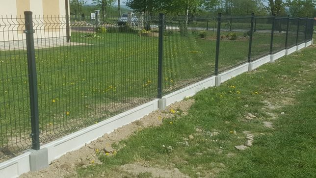 Ogrodzenie panelowe kompletne 47zl metr ogrodzenia