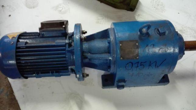 motoreduktor 0.75 kw 13 obr.