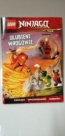 Lego Ninjago figurki+komiksy 6szt.OKAZJA