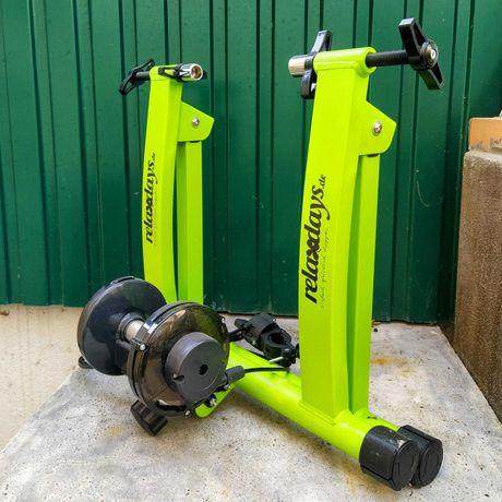 Rolo de Treino Bicicleta - Relaxdays Fahrrad Rollentrainer
