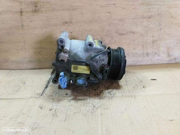 Compressor ar condicionado Ford Fusion 1.4 Gasolina 2003 - YS4H19D629AB