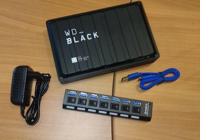 ULTIMOS Hub 7 portas USB 3.0 High Speed Chia Plots Plotting Disco