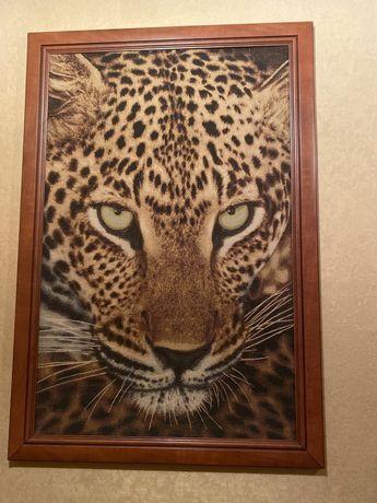 Большая картина «Леопард»