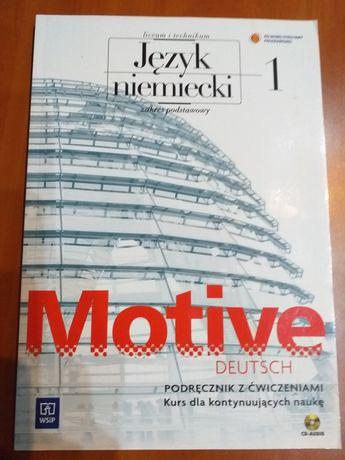 Podręcznik z ćwiczeniami MOTIVE DEUTSCH 1 WSiP nowy + CD