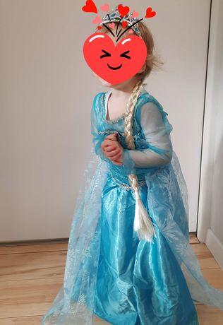 Suknia Elzy z Krainy Lodu