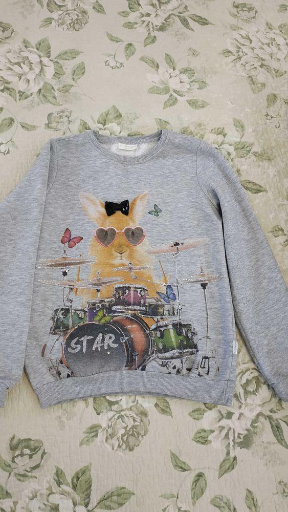 Свитшот(свитер, толстовка) утепленный LC Waikiki для девочки 6-10 лет Донецк - изображение 1