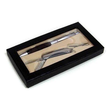 Zestaw długopisu ze scyzorykiem- idealny na prezent