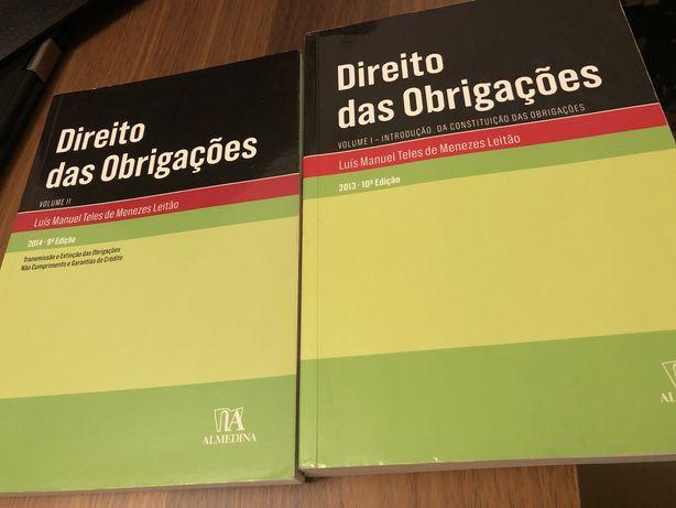 Direito das Obrigações   Menezes Leitão