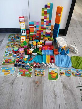 Duży zestaw Lego duplo