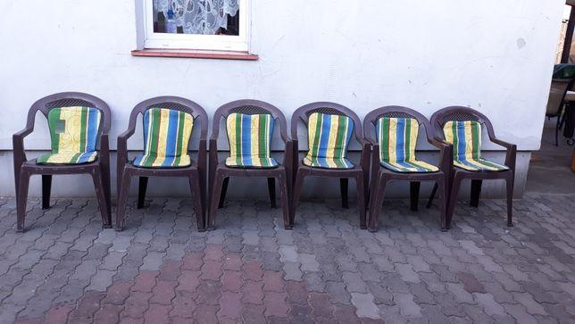 Okazja 6 krzeseł z poduszkami!