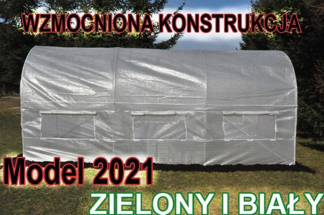 UV5+ MOCNY Tunel Foliowy 2x3 Foliak Szklarnia namiot na pomidory 2021