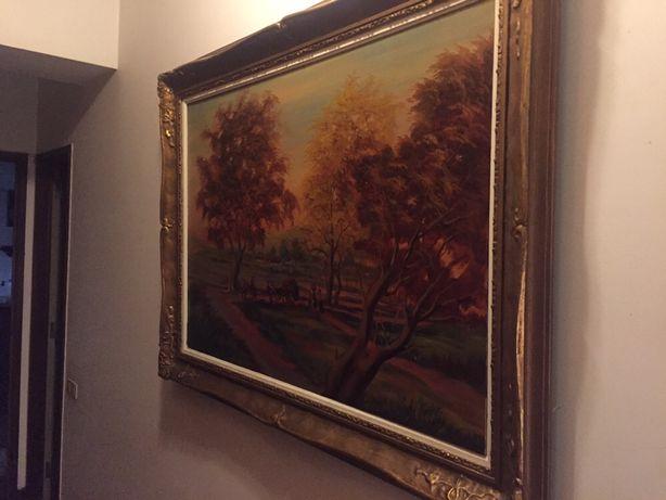 Quadro pintura óleo pintor português