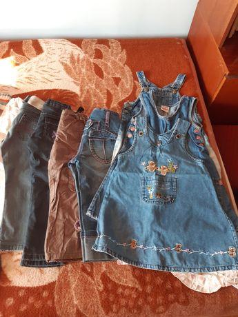 Paka ubrań dla dziewczynki 3-4 lat rezerwacja