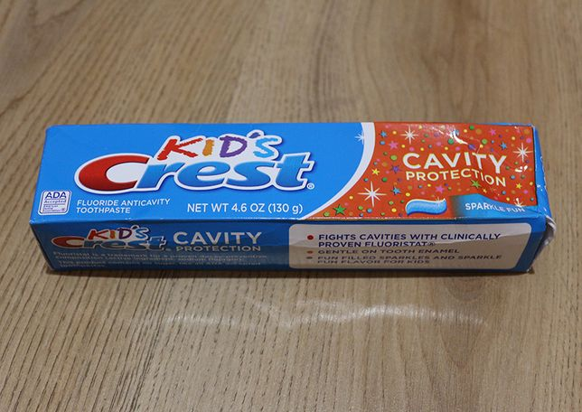 Зубна паста для дітей від 2 років, Crest, 130г, Сша / зубная паста