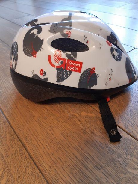 Шлем велосипедный детский для девочки XS (50-54 см)
