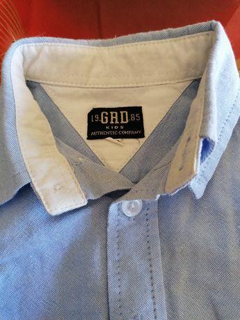 Camisa Girandola azul 12M