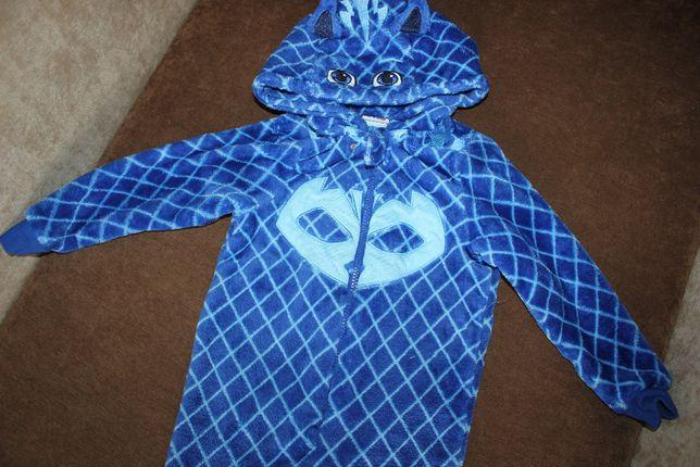 Ромпер комбинезон пижама герои в масках на 4 года