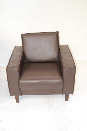 Komplet Sofa 1sofa 1 os. +1 sof. 2 os. + 1 sofa 3 os. w  skórze