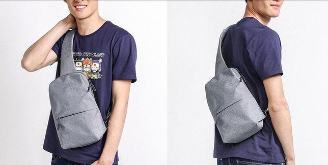 Рюкзаки Xiaomi Mi Сity Sling Bag Light Grey новые 1300 руб.