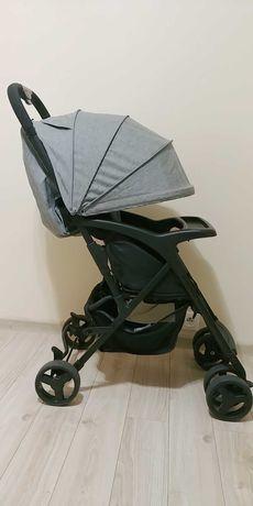 Wózek spacerowy, ultralekki + dodatki
