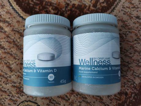 Wapń pochodzenia morskiego i witamina D Oriflame wellness