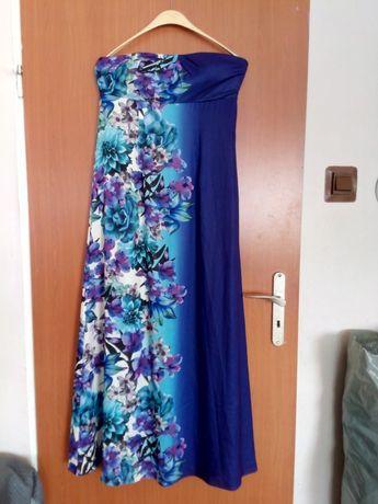 Sukienka długa w kwiaty roz. 40, 42