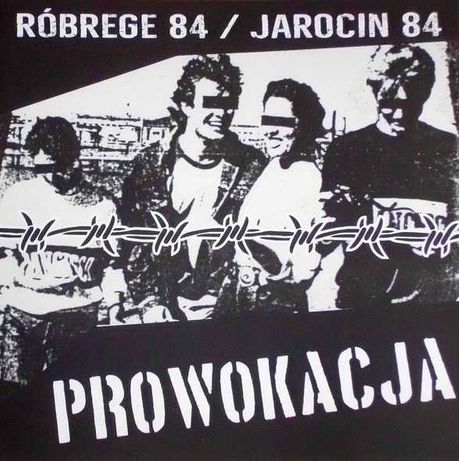 PROWOKACJA - Róbrege 84 / Jarocin 84 LP vinyl płyta
