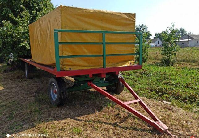 Przyczepa laweta do bel wymiary 7x2.5 m/ Wóz asenizacyjny szambiarka