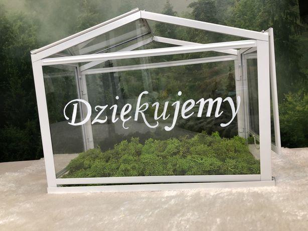 Szklarenka/ pudełko na koperty ślub/wesele