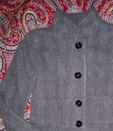 Пальто Zara р.44-46 шерсть