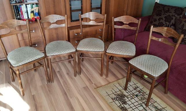 Krzesła lata 80 -te 5 szt.