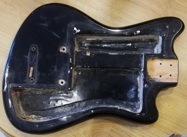 FORMANTA BAS Bass-I vintage ok. 1972 r. korpus, strunociąg