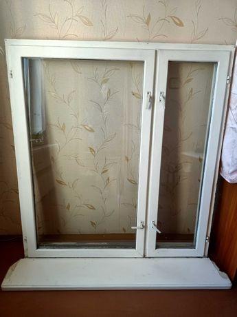 Окна деревянные из сосны, в хорошем состоянии.