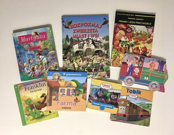 Książki dla dzieci, zestaw, Tomek i przyjaciele, Farma i