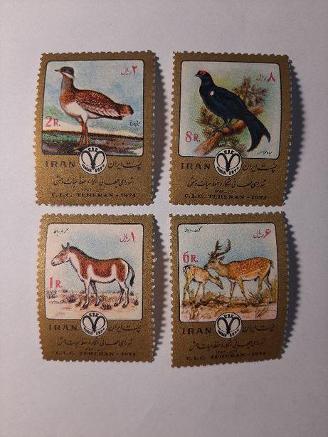 Znaczki pocztowe - zestaw 11