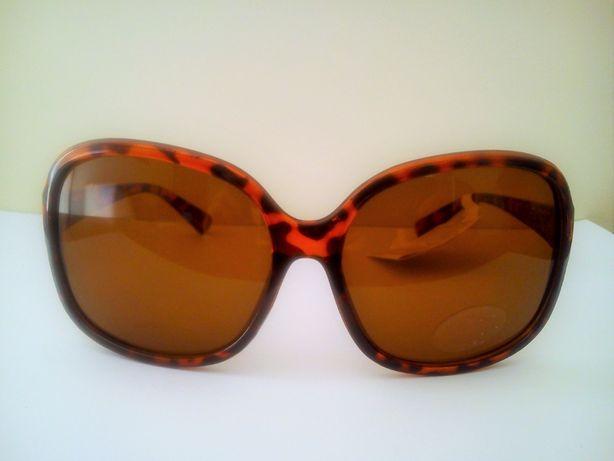 Óculos de sol castanhos NOVOS (com etiqueta)