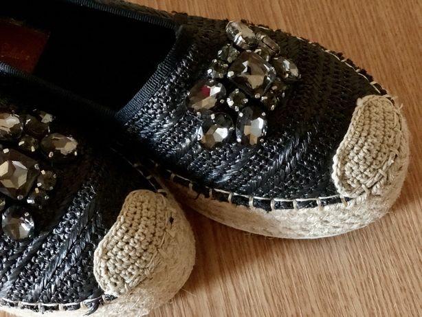 Эспадрильи, обувь женская, летняя обувь, обувь