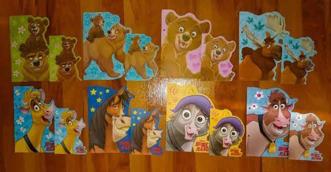 Karteczki Mój Brat Niedźwiedź, Rogate Ranczo - A5 i A6