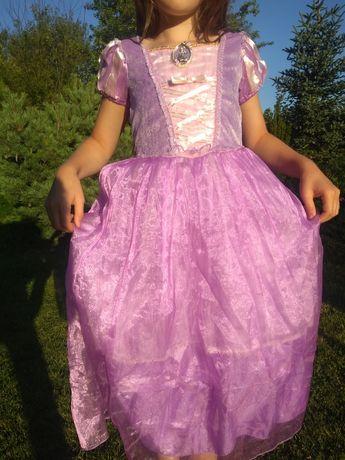 Sukienka Roszpunka.Kupowana naprawdę w Paryżu.Oryginalny sklep Disneya