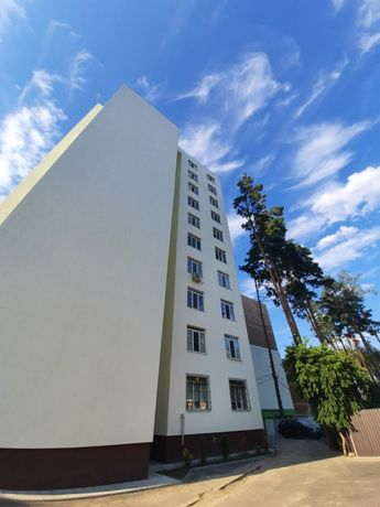 Двушка 60 м2 с балконом, готовый кирпичный дом, хороший район Ирпень