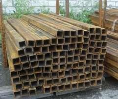 Продам трубы квадратные профильные металлический 50х50х3мм