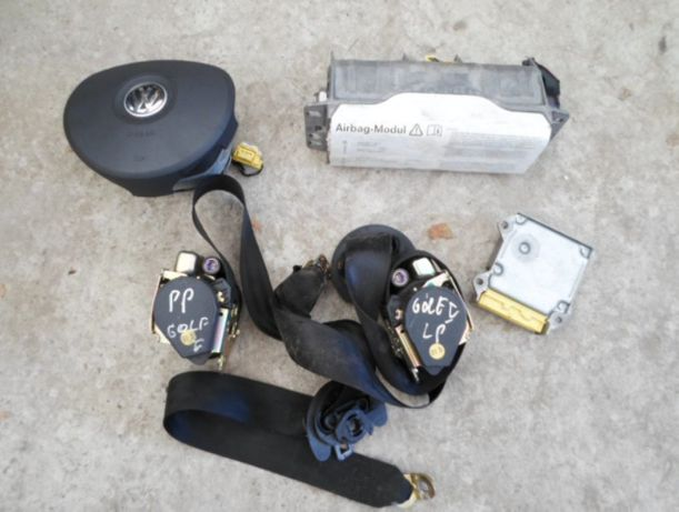 Golv v touran 02-08r airbag poduszka pasy