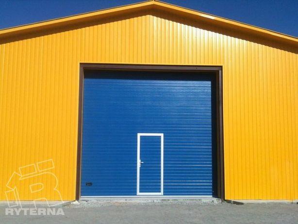 Brama Garażowa Przemysłowa na wymiar - 10 lat Gwarancji na panel