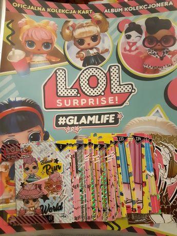 Karty LOL Surprise! #Glamlife - wymiana