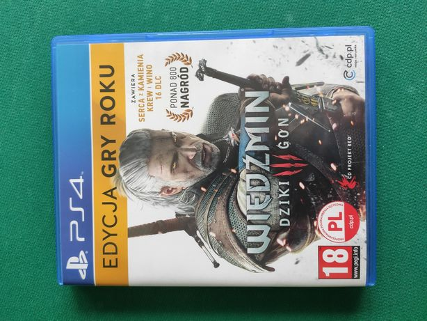 Wiedźmin 3: Dziki Gon (edycja gry roku) GOTY