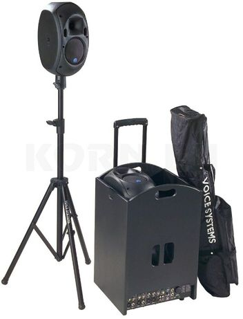 Zestaw Dj aktywne factotum performance voice systems głosniki kpl