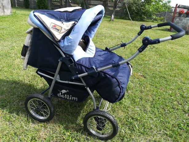 Wózek dziecięcy 2 w 1 głęboki i spacerówka