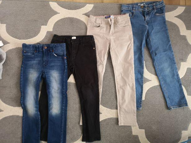 Spodnie chłopięce, jeansy rozmiar 122-128, Zara, F&F, H&M